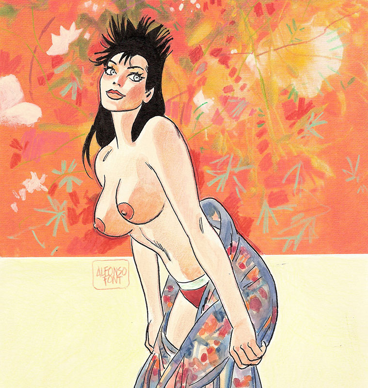 Pin-up illustrations